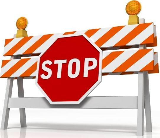 Stopp blokkering