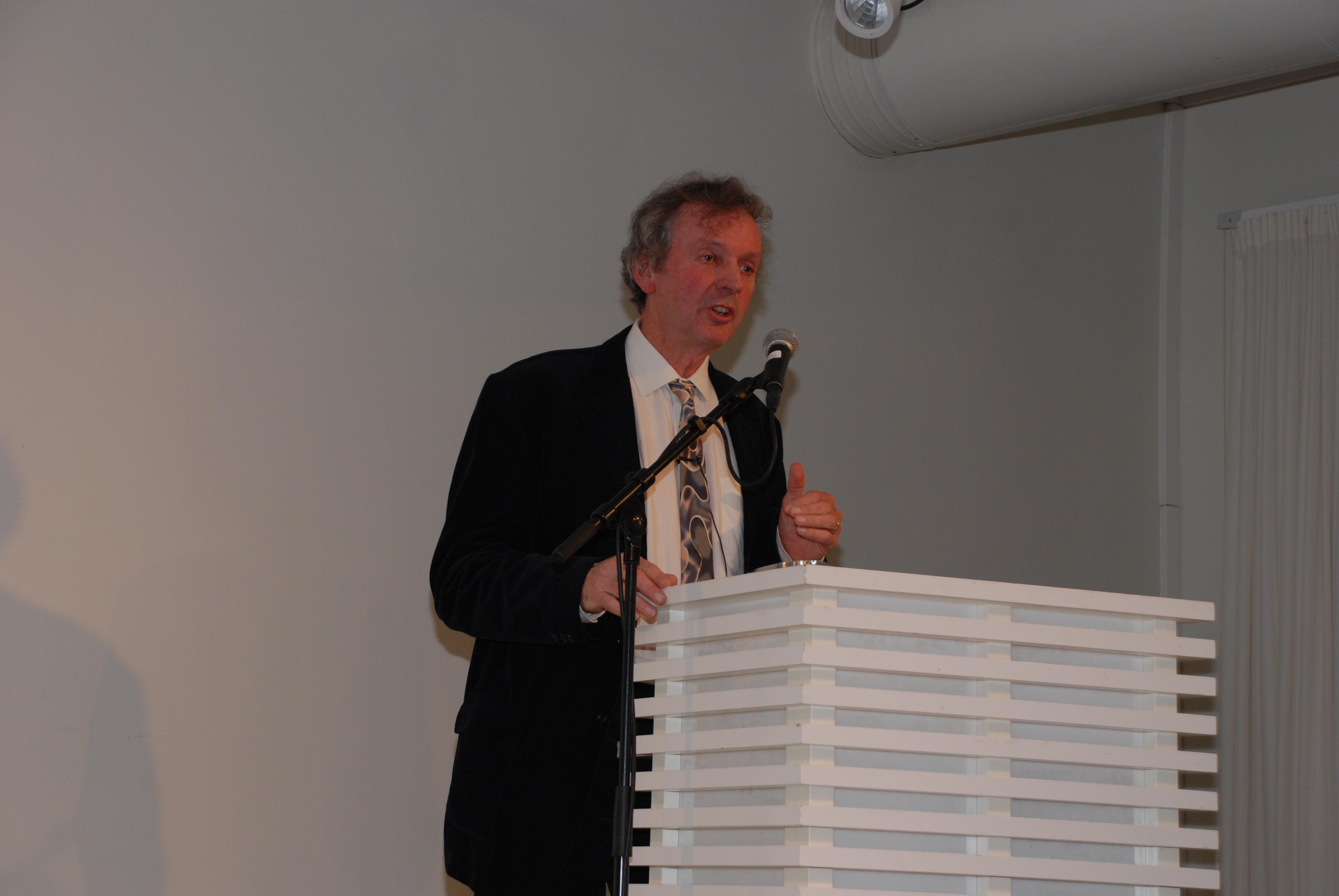 Rupert Sheldrake foreleser på Litteraturhuset