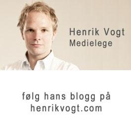 Medielege Henrik Vogt. Foto: Axel Bauer