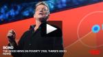 Bono sprer gode nyheter om fattigdom (ja, det finnes gode nyheter)
