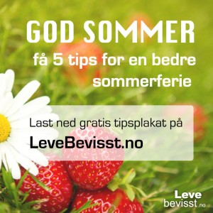 God sommer! - få 5 tips for en bedre sommerferie