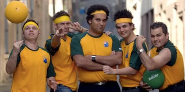Dodge ball team