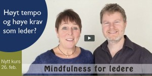 Nytt kurs i mindfulness for ledere
