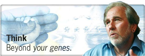 Bruce Lipton - Think. Beyond your genes.