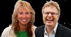 Kursledere Kristin Wang og Geir Harald Hagberg