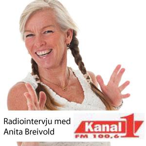 Kanal 1 - Radiointervju med Anita Breivold