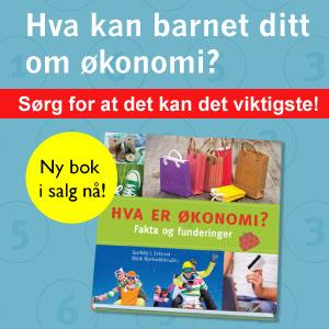 Hva er økonomi? Fakta og funderinger. Ny bok i salg nå!